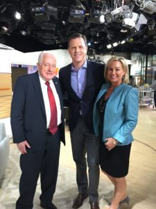 With Willie Geist on TODAY Show set in NYC.